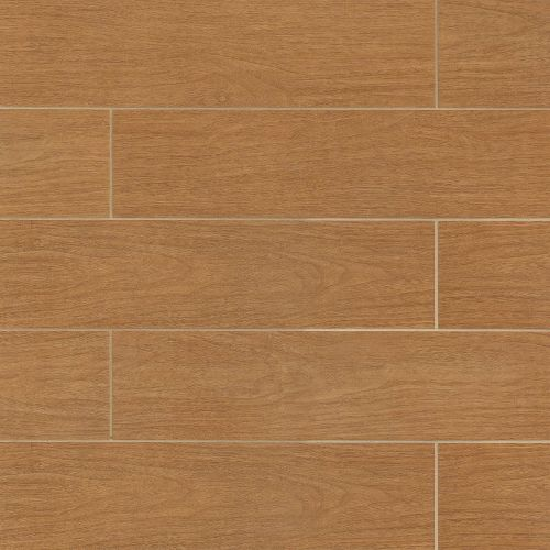 "Heathland Collection 6"" x 24"" Floor & Wall Tile in Pecan"
