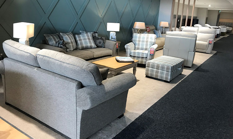 Sofa Ranges in Bedtime Store Craigavon