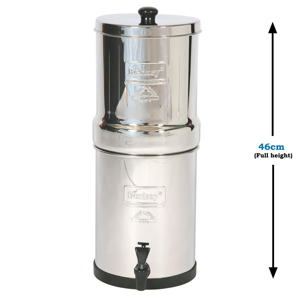 Budget Travel Berkey Water Filter System Berkey Water