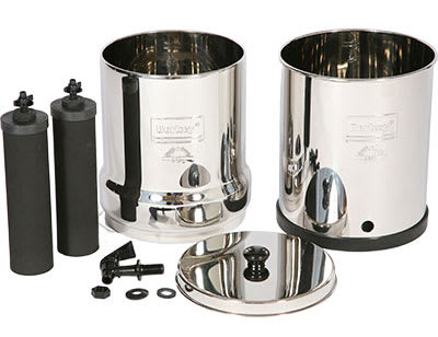 Priming Black Berkey Filter Emelments