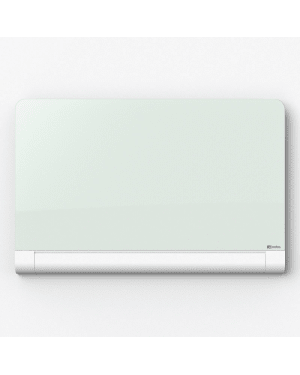 Nobo Diamond Glass Board 993 x 559mm White (Rounded Corners)