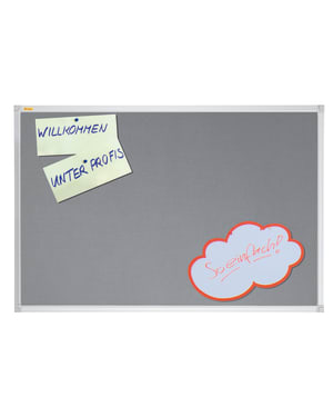 X-Tra!Line Grey Felt Noticeboard 900 x 600mm