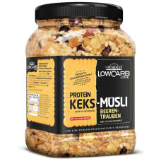 Protein Keks Müsli Beeren Traube - MHD 03/2018
