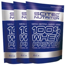 100% Whey Protein* 3er Pack