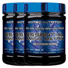 Essential Amino Matrix 3er Pack