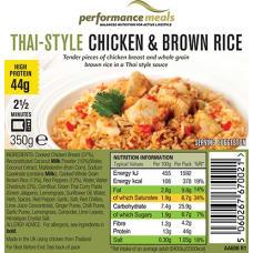 Thai Style Chicken & Brown Rice