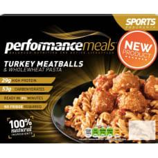 Sports Fuel Turkey Meatballs