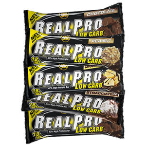 5 x REAL PRO Low Carb Bar