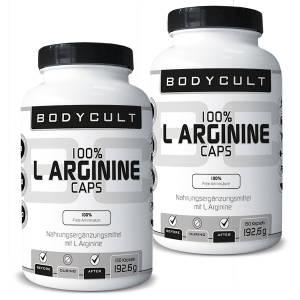 100% L Arginine Caps 2er Pack