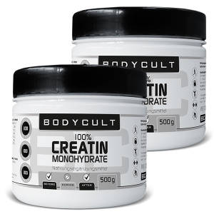 100% Creatin Monohydrate 2er Pack