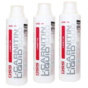 L Carnitin Liquid 1000 3er Pack