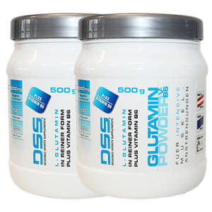 Glutamin Powder V.B6 2er Pack