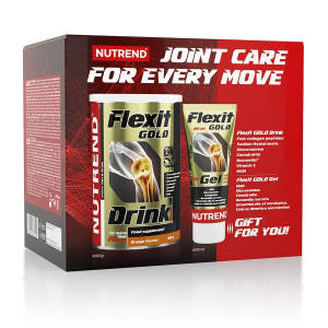 Flexit Gold Drink + Gold Gel