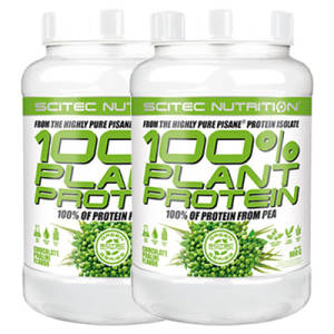 100% Plant Protein 2er Pack