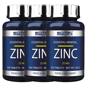 Zinc 25 mg 3er Pack