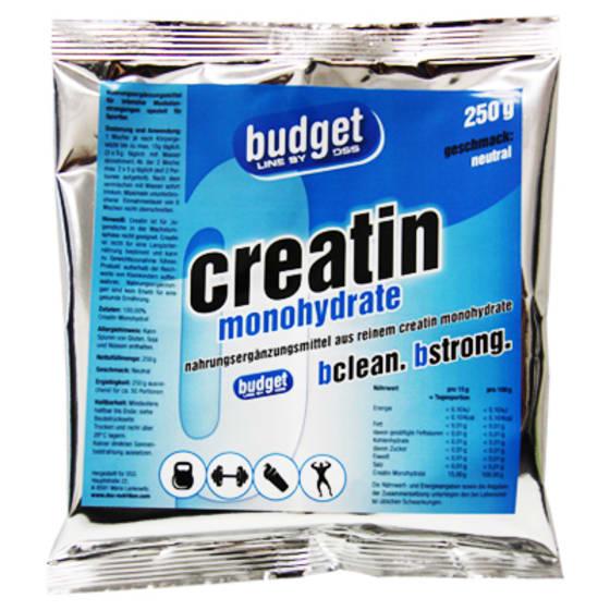 BUDGET  Creatin Monohydrate