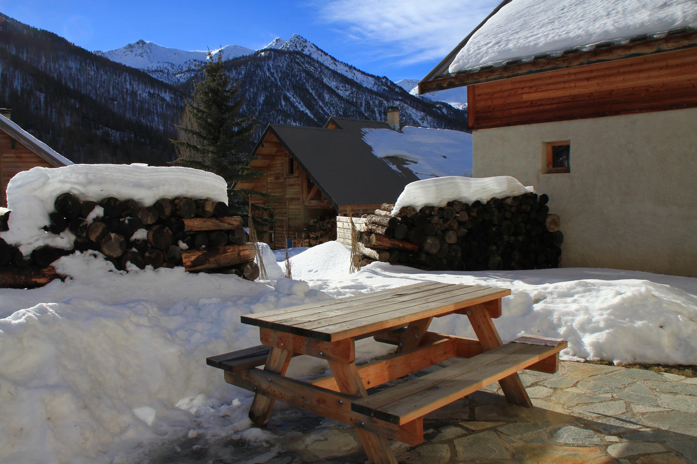 Chalet Le Taquo Hameau des Chazals Nevache Hautes Alpes  Chazals