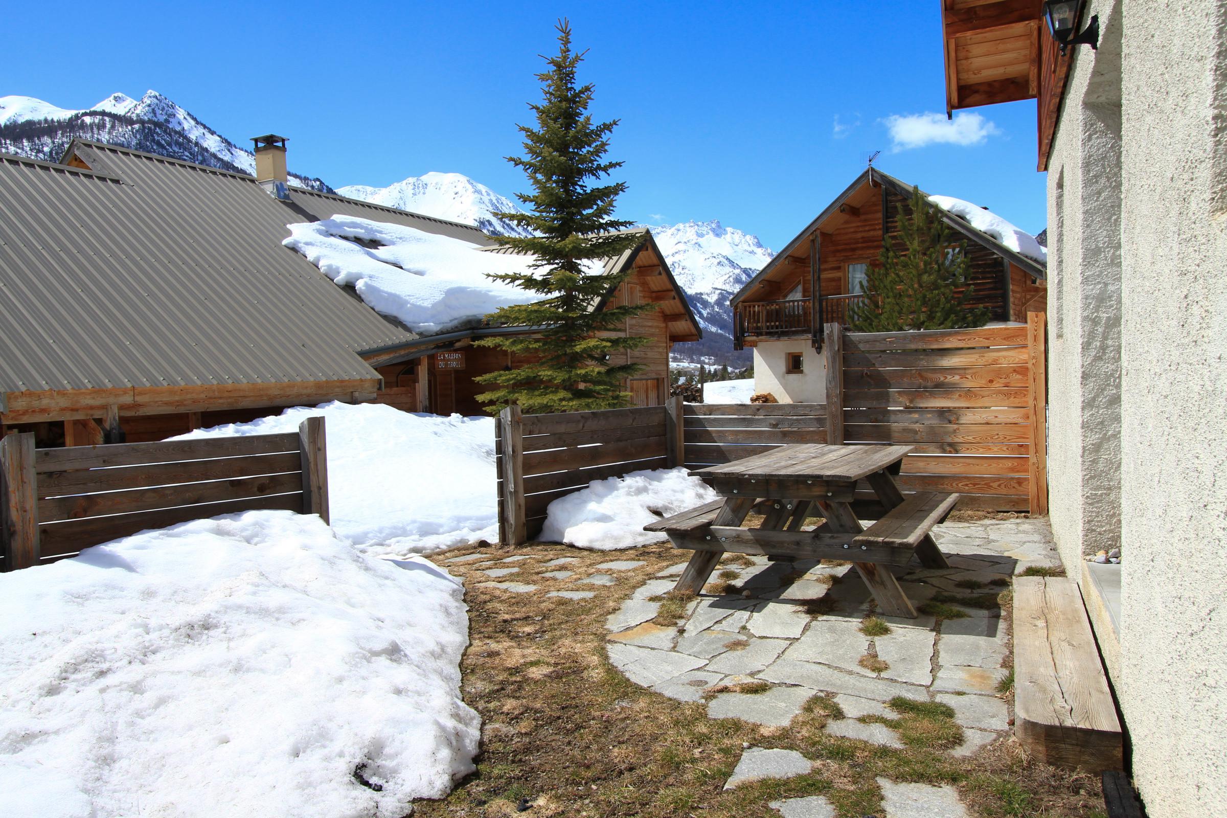 Chalet Le Pignotto Hameau des Chazals Nevache Hautes Alpes