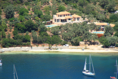 Villa Sivota, Exclusive sea front Villa with 99