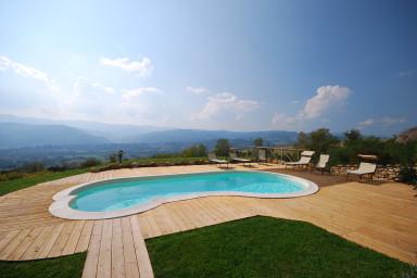 Genuint toscanskt hus med pool att hyra i Toscana