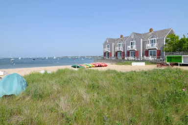 Harborside 4 - A Nantucket Downtown Beach Front Town Home.