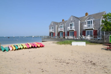 Harborside 3 - A Nantucket Downtown Beach Front Town Home.