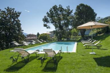 Modern rymlig villa med spa
