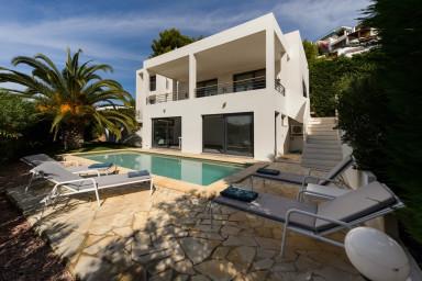 Elegant villa med pool och Ibizas bästa läge