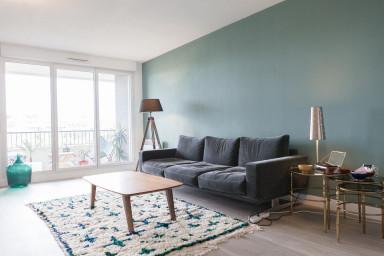 Appartement clair et spacieux avec grand balcon