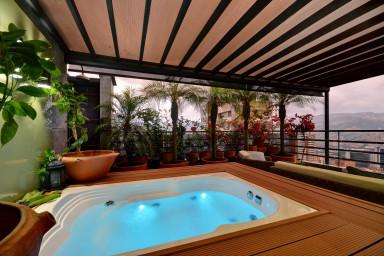 furnished apartments medellin penthouse - Setai #1408 3 level Penthouse