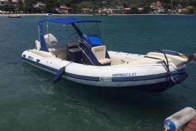 Freedom I - Luxury RIB, perfect for daily cruise around the Ionian islands