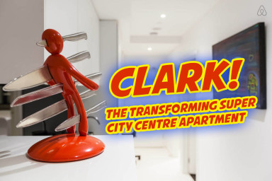 Clark, the Transforming Apartment