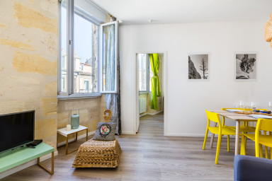 Bright apartment in the city center