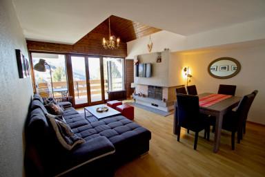 Joli appartement ensoleillé à Vercorin