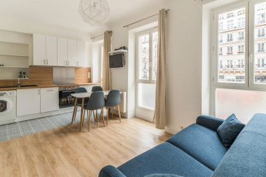 Parisian apartment in the heart of the capital city