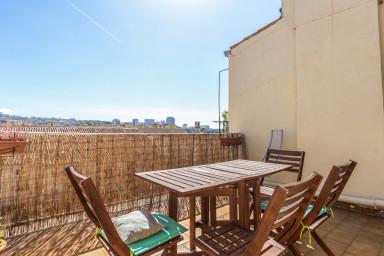 Appartement terrasse au coeur de Marseille - W367