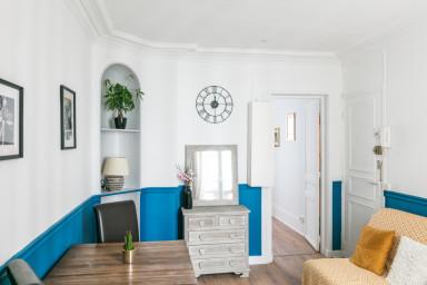 Appartement parisien au coeur de la capitale - W449