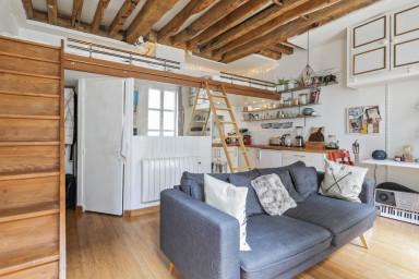 Splendide studio à 2 pas du Canal Saint Martin - W483