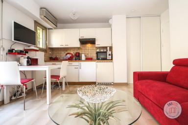 Studio charmant avec large terrasse dans le centre-ville cannois