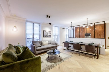 2-BDR/2BR Saint Honoré/Louvre - Serviced Apartment