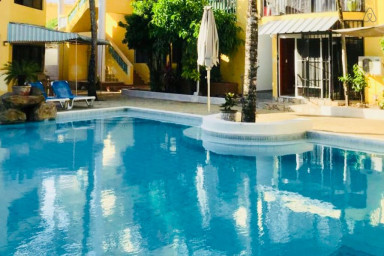 Sosua Sanctuary-1 Bed/1Bath with FAST PRIVATE WiFi