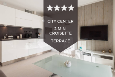 ✌ Cannes City Center ✌ Ultra-modern 1-bedroom apartment with terrace