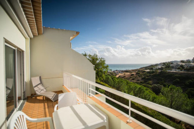 Porto de Mos Apartment with Amazing Balcony View