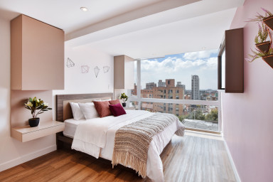 Urban Heights 303 - Trendy Studios in Exciting Chapinero Alto