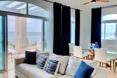 HGTV featured Beachfront Penthouse in heart of Cabarete