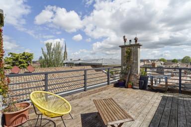 T2 avec une superbe terrasse au coeur de Bordeaux - Bail de mobilité