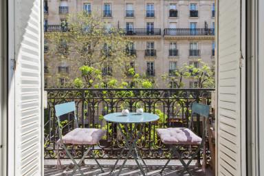 Appartement ravissant avec balcon - W454