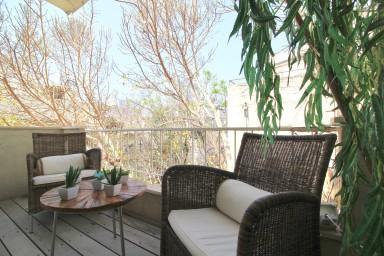 Nordau 62 - Cosy 2 bedrooms - Quiet with sunny balcony