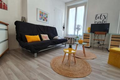 Nice studio apartment - Near Station / GEM - Trams A & B #G6