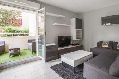 T2 moderne avec terrasse et parking proche de Disneyland Paris - Welkeys